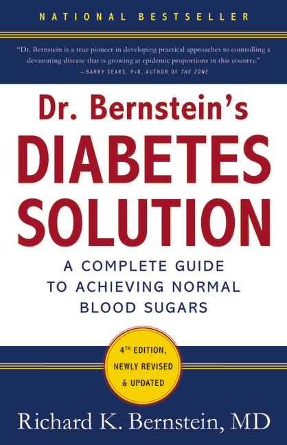 Cover of Dr. Bernstein's Diabetes Solution 2011 Edition