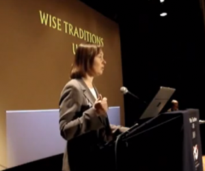 Dr. Campbell McBride speaking about type-1 diabetes at the 2011 Wise Tradition Conference